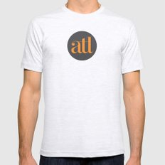 ATL Ash Grey Mens Fitted Tee LARGE