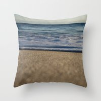 blanket Throw Pillows featuring BLANKET by jenna chalmers