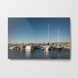 Marina Boats Metal Print