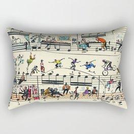 6 etude Rectangular Pillow