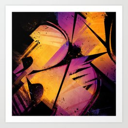 B--Abstract Art Print