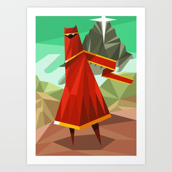 The Wanderer Art Print