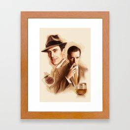 MAD MEN DON DRAPER Framed Art Print