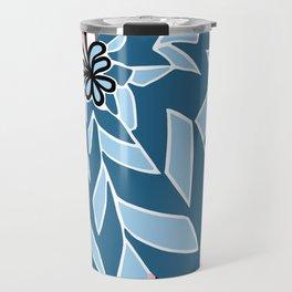 BAYAMO: BOLERO BLUES, Art Deco Tropical Travel Mug