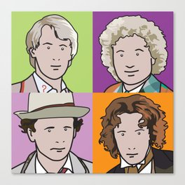 Doctors 5 to 8 Canvas Print