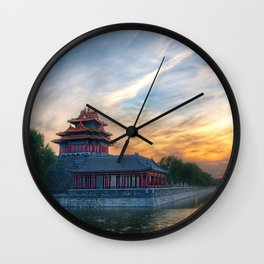 Forbidden City Beijing China Wall Clock