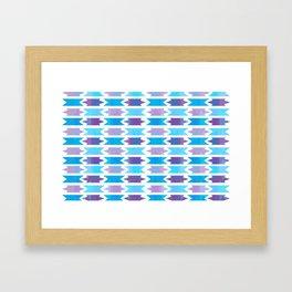 Winter Fragments Framed Art Print