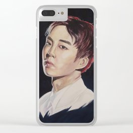 MONSTER - Xiumin Clear iPhone Case