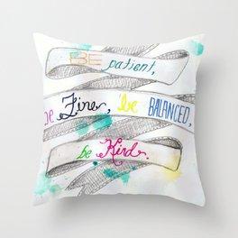 skinny love Throw Pillow