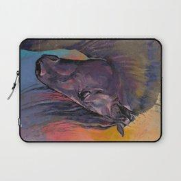 Friesian Horse Laptop Sleeve
