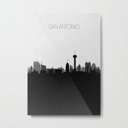 City Skylines: San Antonio (Alternative) Metal Print