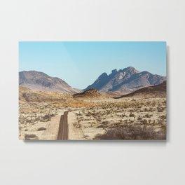 The Lost Highway III Metal Print