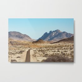 The Lost Highway III Metal Print