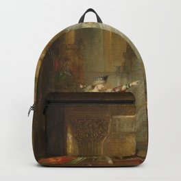 The Apparition by Gustave Moreau Backpack