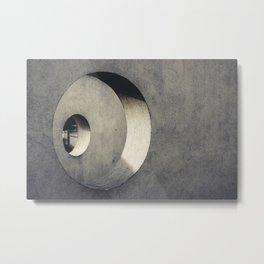 Rings of holes Metal Print