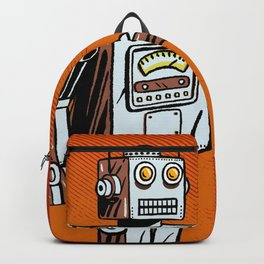Retro Robot Toy Backpack
