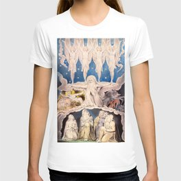 "William Blake ""When the Morning Stars Sang Together"" T-shirt"