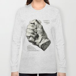 Cast from the Right Hand Of Abraham Lincoln Long Sleeve T-shirt