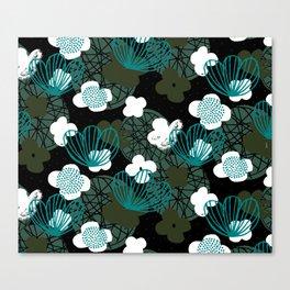 Kokedama Garden M+M Greens by Friztin Canvas Print