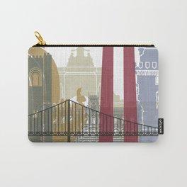 Lisbon skyline poster Carry-All Pouch