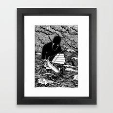 Umibōzu 海坊主 Framed Art Print