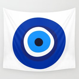 evil eye symbol Wall Tapestry