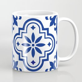 Blue and White 2 Classic Design Talavera Coffee Mug