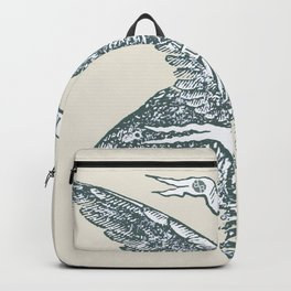 Rubino Rise In Art We Trust American USA Eagle Backpack
