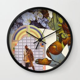 Breakingup Wall Clock