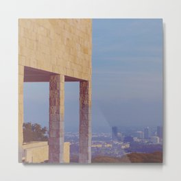 Elevated View Metal Print