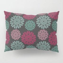 Pink snow Pillow Sham