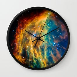 Medusa Nebula Wall Clock