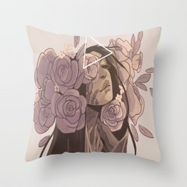 Controlled by mother Throw Pillow
