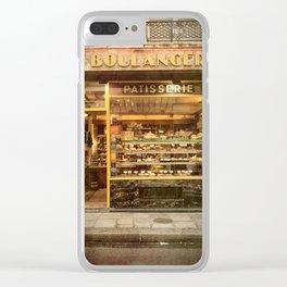 La Boulangerie Paris Clear iPhone Case
