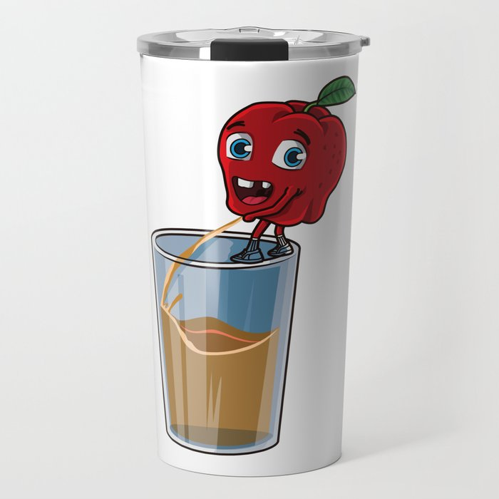 Freshly Squeezed Apple Juice Travel Mug
