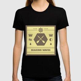 Seaking Waves 001 T-shirt
