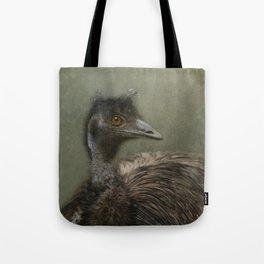 A happy Emu Tote Bag