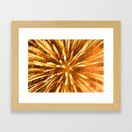 celebrate! Framed Art Print
