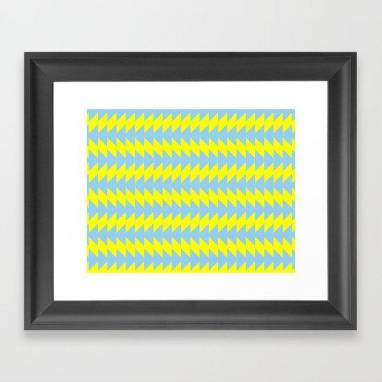 Van Zanen Yellow & Blue Framed Art Print