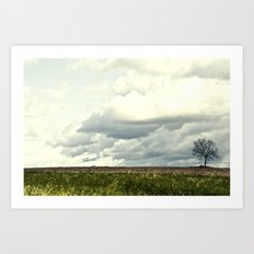 Stands Alone Art Print