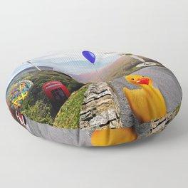 Roadside Attractions Floor Pillow