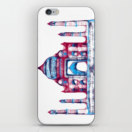Taj Mahal iPhone & iPod Skin