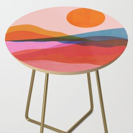 Abstraction_OCEAN_Beach_Minimalism_001 Side Table