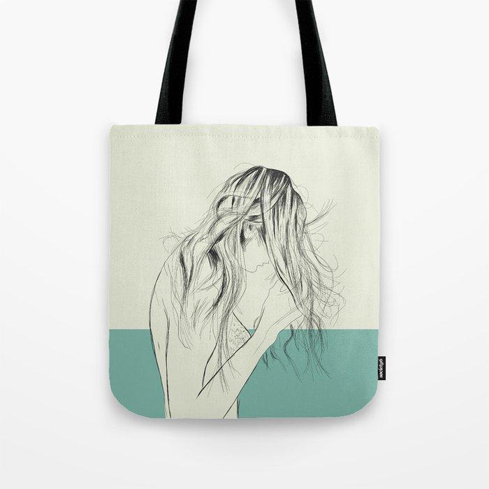 Woman Color 8 Tote Bag