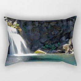 McCloud River Falls Rectangular Pillow