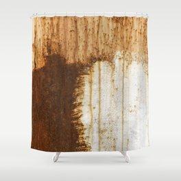 Rust 05 Shower Curtain