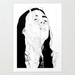 Milk Art Print