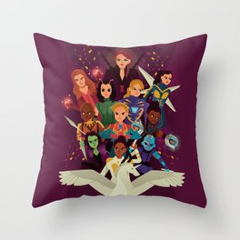 SHEroes Throw Pillow