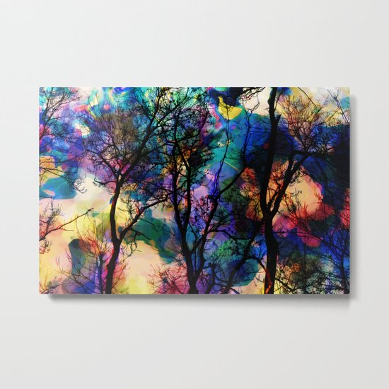 Crazy Nature II Metal Print