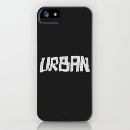 Urban Marker iPhone Case